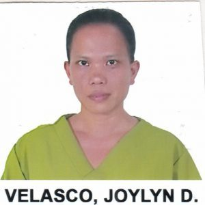 PICTURE 2X2 JOYLYN D. VELASCO
